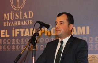 MÜSİAD Diyarbakır Şube Başkanı'na saldıran...