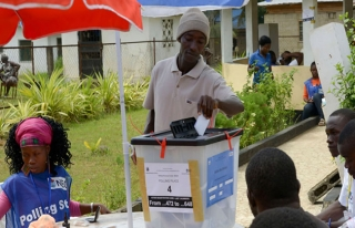 Liberya yarın yeni devlet başkanını seçecek
