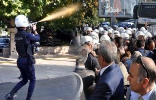 Ankara Gar saldırısının yıldönümünde gösteri