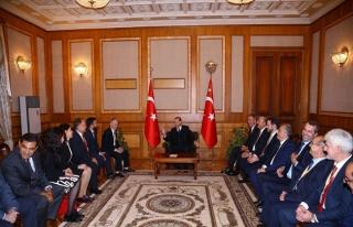 Erdoğan: Kırım Tatarlarına desteğimiz devam edecek