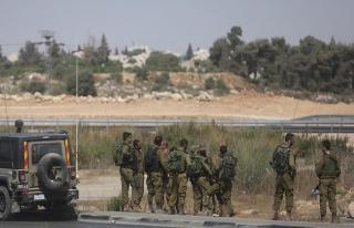 İşgal ordusu Filistin'de 36 dönüm tarım arazisine...