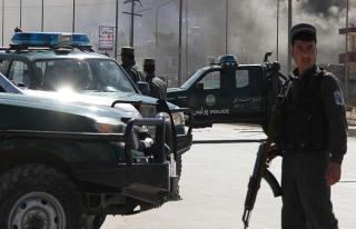 Afganistan'da Taliban'dan polis karakoluna saldırı:...