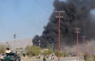 Afganistan'da emniyet müdürlüğüne saldırı,...