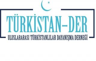 Türkistanlılar Mirziyayev'e 'Hoşgeldiniz' dedi
