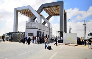 Gazze'nin dünyaya açıla(maya)n kapıları   GRAFİK