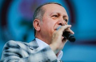 Erdoğan: Tüm terör kamplarını yerle bir edeceğiz
