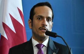 Katar Dışişleri Bakanı Al Sani'den 'İdlib paylaşımı'