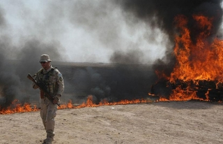 Afganistan'da 23 ton uyuşturucu imha edildi