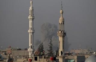 Esed rejimi Doğu Guta'da sivilleri hedef alıyor...