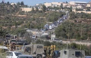 Filistinlilere ait 50 dönümlük arazi Yahudi işgalcilere...