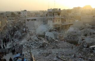 SMDK, Halep'teki pazar katliamından Rusya'yı sorumlu...