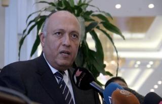 Mısır Dışişleri Bakanı Şukri, Umman'da
