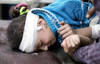 Esed rejimi Doğu Guta'da 3 çocuğu daha öldürdü