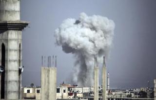Doğu Guta'daki rejim saldırılarında sivil kayıplar...