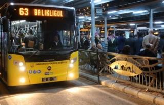 Şanlıurfa da ulaşımda 24 saat uygulamasına geçti