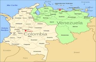 Kolombiya'dan Venezuela sınırına ihlal tespiti...