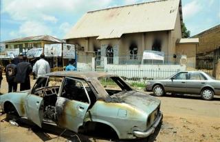 Nijerya'da kiliseden çıkanlara silahlı saldırıda...