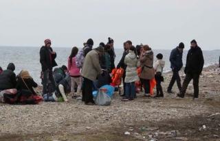 Çanakkale'de 32 Afganistan ve İran uyruklu yakalandı