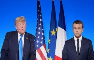 Macron, Trump'a Kudüs için endişesini belirtti