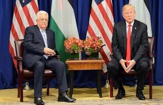 Trump, Kudüs için niyetini Abbas'a söyledi