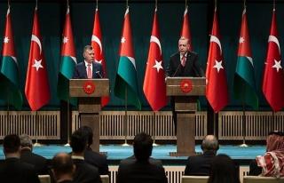 Ürdün Kralı Abdullah: İki devletli bir çözümün...
