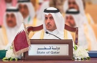 Katar'dan Cumhurbaşkanı Erdoğan'a 'Kudüs' övgüsü