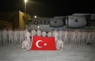 Katar'daki TSK unsurlarına yeni katılım