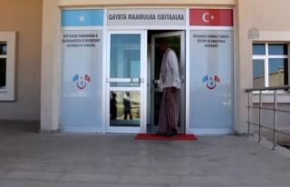 'Türk hastaneleri, Somali halkına umut oldu'