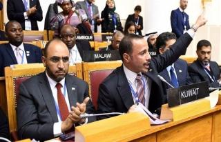 Körfez ülkeleri parlamento başkanları toplantısına...