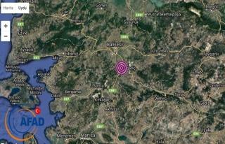Balıkesir'de orta büyüklükte deprem