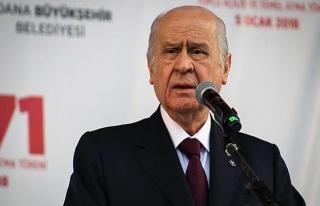 Bahçeli: Yeni sistem sadece Türk milletinin harcıdır