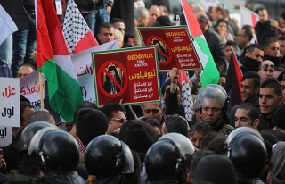 Beytullahim'de 'Patrik Theophilos'a protesto