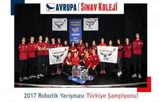 Avrupa Sınav Koleji Robotik Takımı Türkiye Şampiyonu...