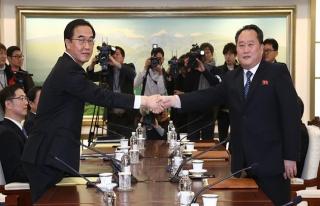 Güney Kore ile Kuzey'den iki yıl aradan sonra ilk...