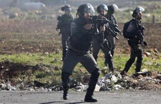 İşgal güçlerinden Filistinlilere gerçek mermi...