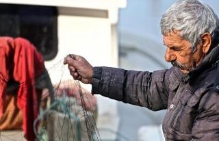 Balıkçılar hasretle kar yağışını bekliyor