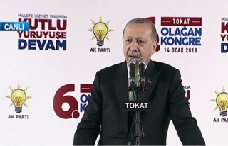 Cumhurbaşkanı Erdoğan: Afrin'e de bir gece ansızın...