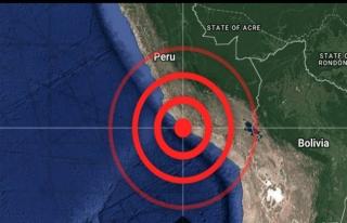 Peru'da şiddetli depremden sonra tsunami uyarısı...