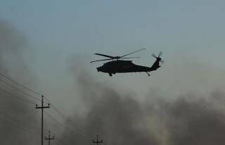 Kolombiya'da askeri helikopter düştü: 8'i asker...