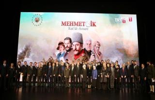 Cumhurbaşkanı Erdoğan, 'Kut'ül Amare' dizisinin...