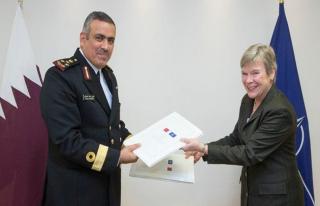 Katar ile NATO güvenlik anlaşması imzaladı