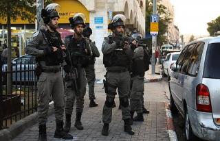 İsrail polisi Filistin üniversitesini bastı