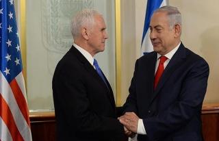 Pence: ABD, büyükelçiliğini 2019'da Kudüs'e taşıyacak