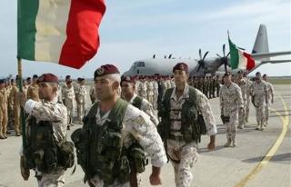 İtalya'nın Libya'daki askeri varlığı egemenliği...