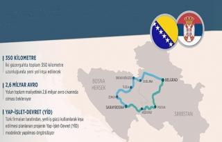 Saraybosna-Belgrad Otoyolu iki güzergahtan yapılacak