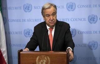 Guterres: Suriye'de kuşatma altındaki bölgelere...