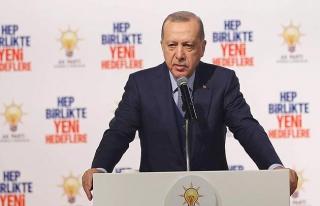 Cumhurbaşkanı Erdoğan: Az önce bir askeri helikopterimiz...