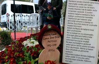 Afrin şehidi Bilal Akpınar'ın vasiyeti yerine getirilecek