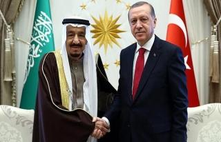 Cumhurbaşkanı Erdoğan, Suudi Arabistan Kralı Selman...