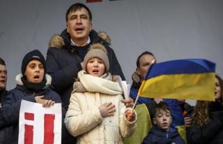 Saakaşvili Hollanda'ya yerleşiyor